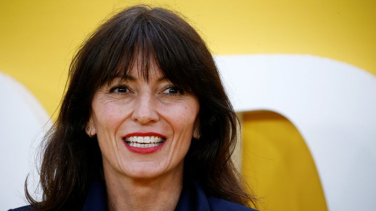 Davina McCall at the Yesterday premiere in 2019
