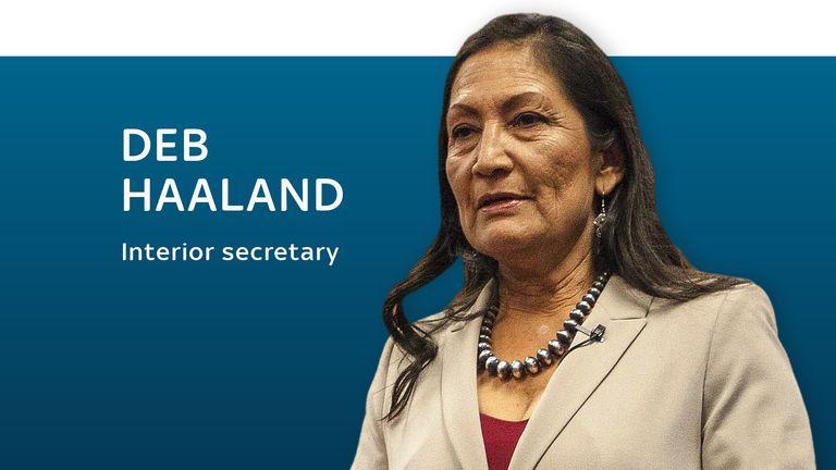 Deb Haaland, interior secretary
