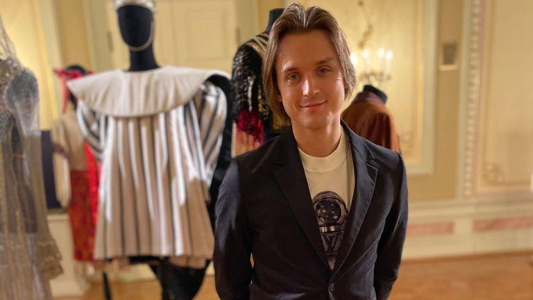 Denis Rodkin, principal dancer