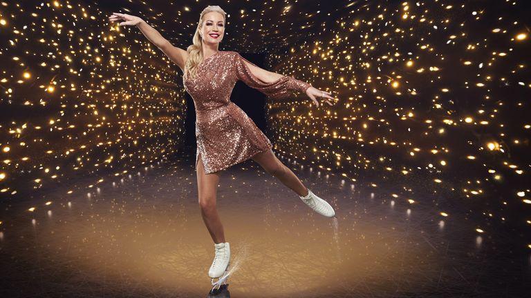 Denise Van Outen. PIC: ITV