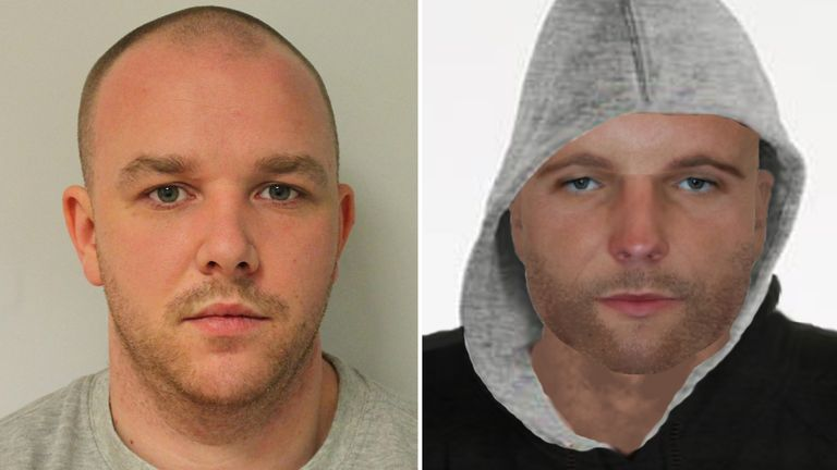 Derry McCann was sentenced to life in prison partly thanks to PC Barnes' e-fit