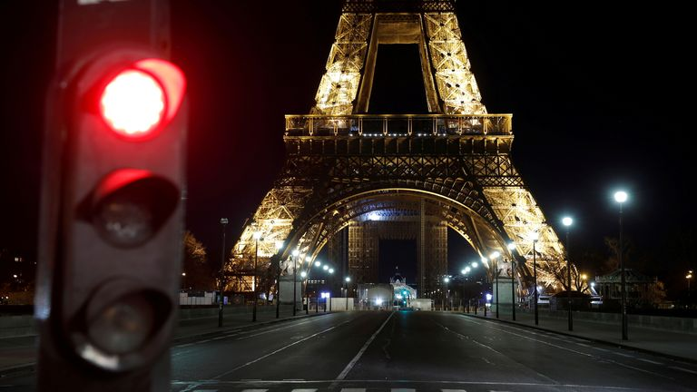 The French prime minister announced news restrictions on travel