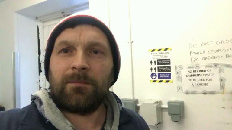 Fisherman in Scotland rants