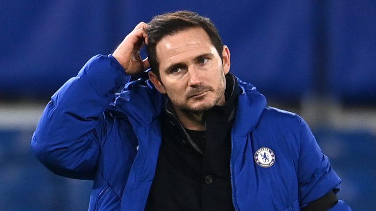 Frank Lampard. Pic: AP