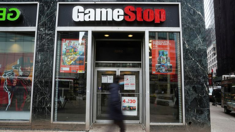 GameStop shares have soared