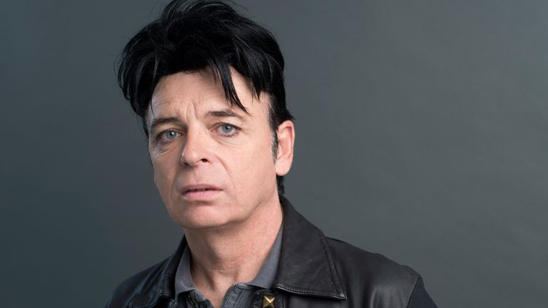 Gary Numan poses for a portrait in New York to promote his album, Savage. Pic: Scott Gries/Invision/AP