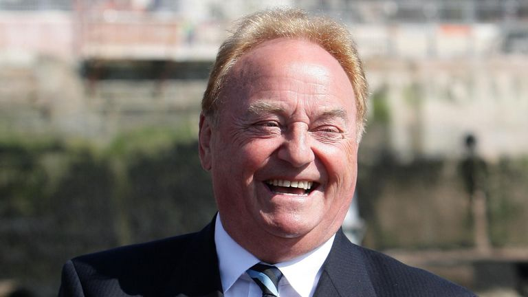 Gerry Marsden from Gerry and the Pacemakers