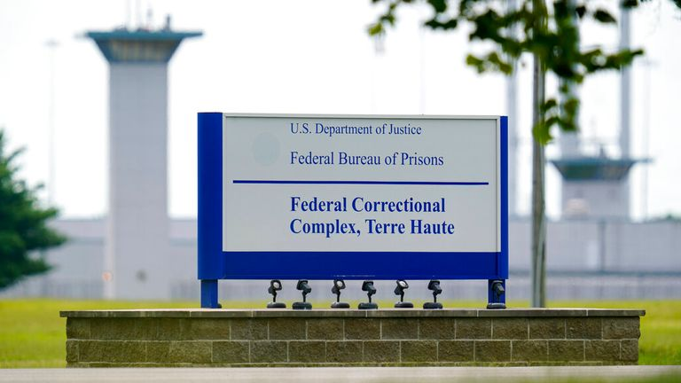 Higgs was executed at the federal prison in Terre Haute in Indiana