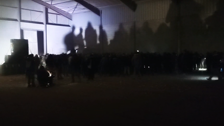 Credit: Nicolas Mercier/Hors-Zone PressAn illegal New Year's rave that attracted some 2,500 people to hangars south of Rennes continued into January 2 before finishing up in the early hours.