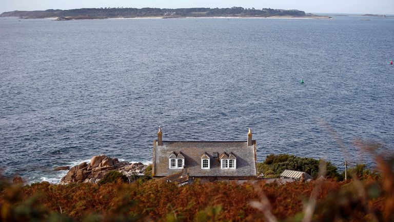 """Officials have urged people living on the Isles of Scilly to """"look after one another"""""""