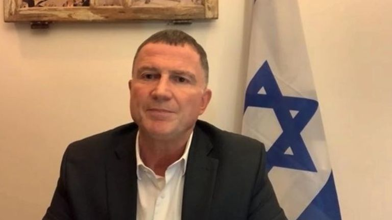 Health Minister Yuli Edelstein suggested Israel will only help Palestinians after all its citizens have had the jab