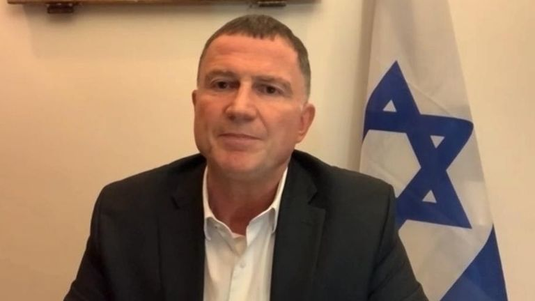 Israeli health minister Yuli Edelstein says country's need to 'get out there' if they want to replicate his country's vaccination success