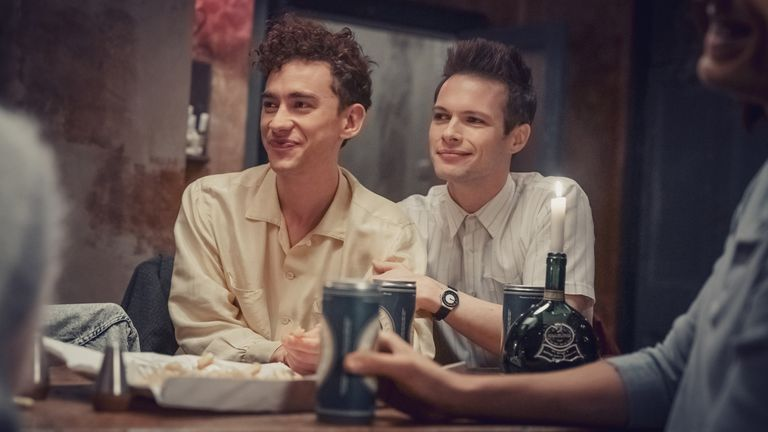 Ritchie (Olly Alexander) and Donald Bassett (Nathaniel J Hall) in It's A Sin. Pic: Channel 4
