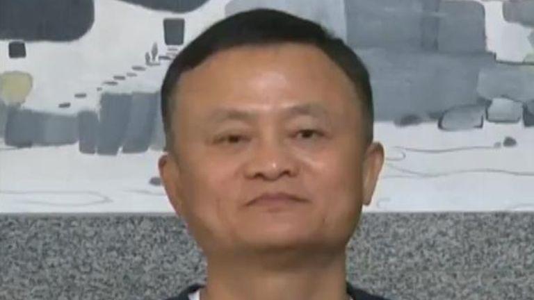 Twitter de Jack Ma.  Es cofundador y ex presidente ejecutivo de Alibaba Group.