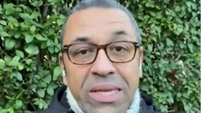 Conservative MP James Cleverly speaks of his cousin's death with COVID-19.