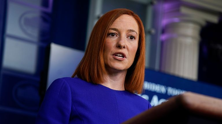 Jen Psaki is President Biden's new press secretary Pic: AP