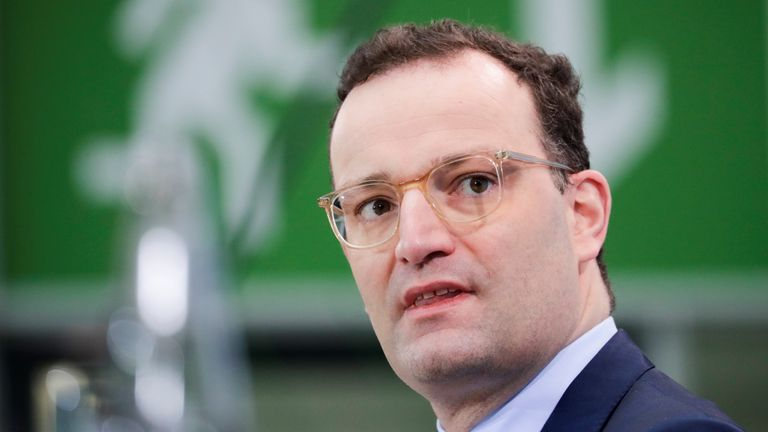 Jens Spahn, who's just 40, is also fancied as offering a more modern face for Germany