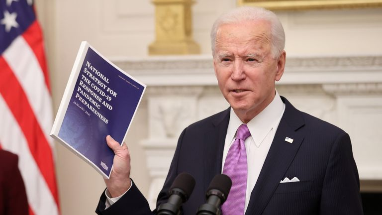 President Joe Biden has wasted little time in unveiling a plan to tackle the coronavirus crisis.