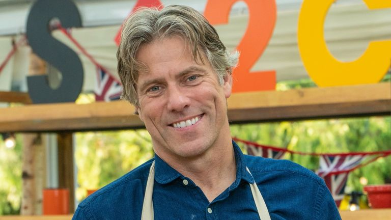 John Bishop is taking part in The Great Celebrity Bake Off. Pic: Channel 4
