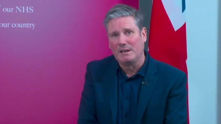 Labour leader Sir Keir Starmer said Home Secretary Priti Patel had to answer to the Commons over the police data loss