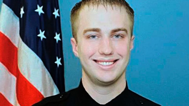 Rusten Sheskey will not face charges after the shooting of Jacob Blake. File pic: Wisconsin Department of Justice/AP