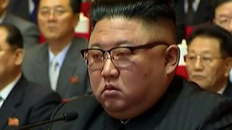 Kim Jong Un is seen 'looking tired' at party congress