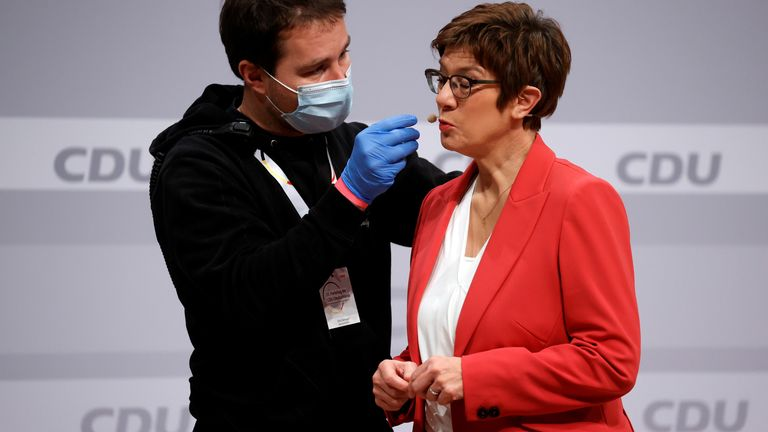 Annegret Kramp-Karrenbauer resigned last year after a series of mistakes and missteps