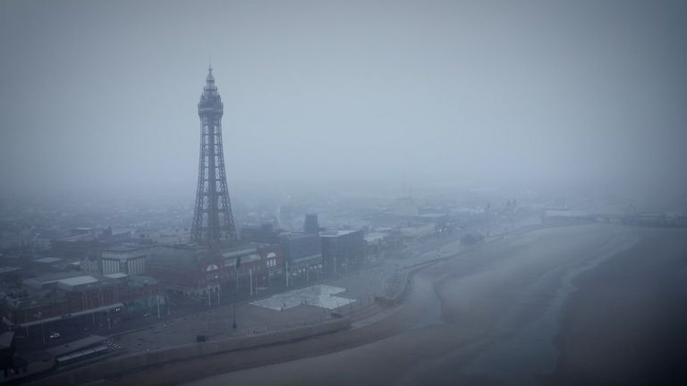 Blackpool sees influx of struggling families