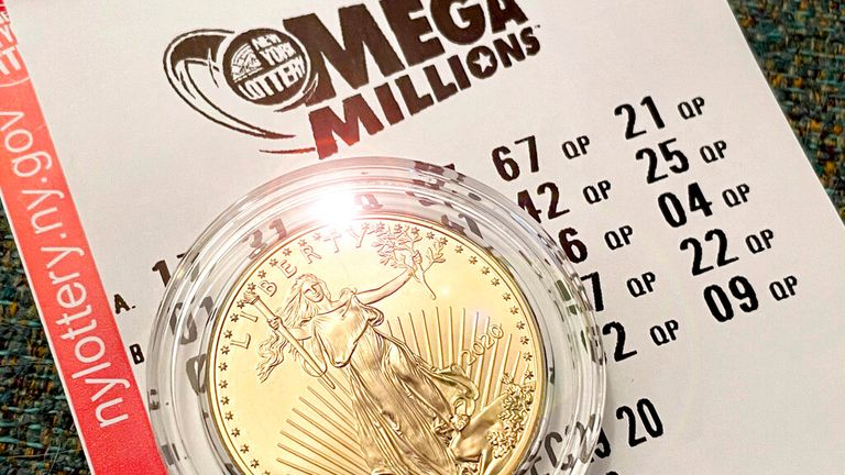 Photo by: STRF/STAR MAX/IPx.2021.1/23/21.The $1 billion Mega Millions jackpot has a winner from a ticket bought in Michigan.