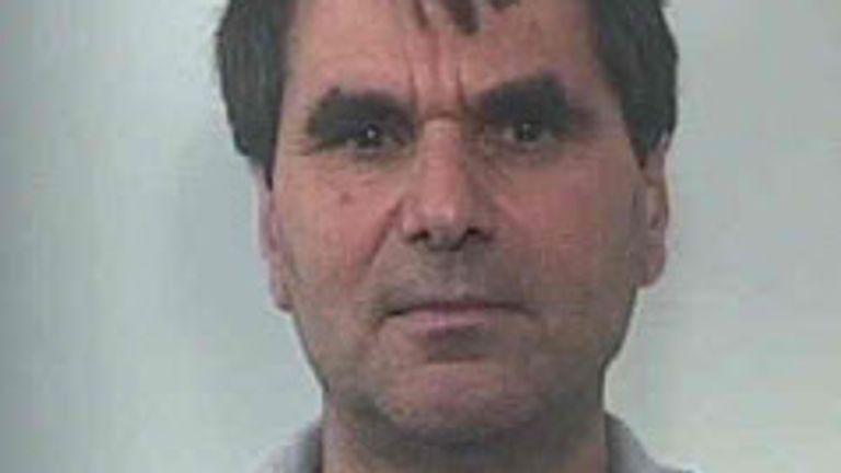 Luigi Mancuso is said to be a leading figure in the 'Ndrangheta Pic: Police handout