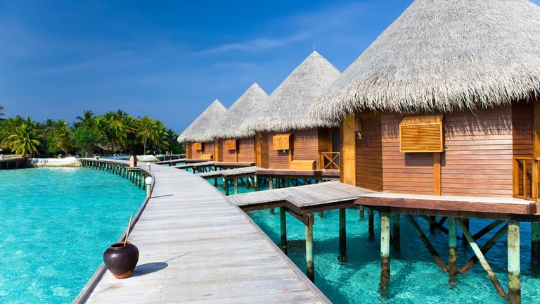 The Maldives is the most popular holiday destination of 2021, new research suggests