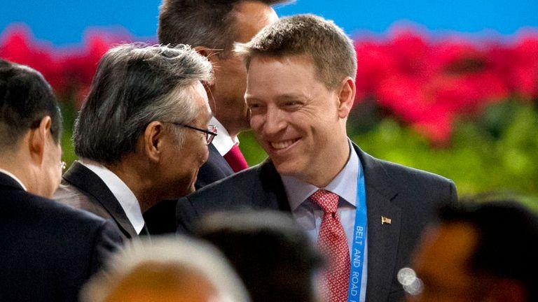 Deputy national security adviser Matt Pottinger