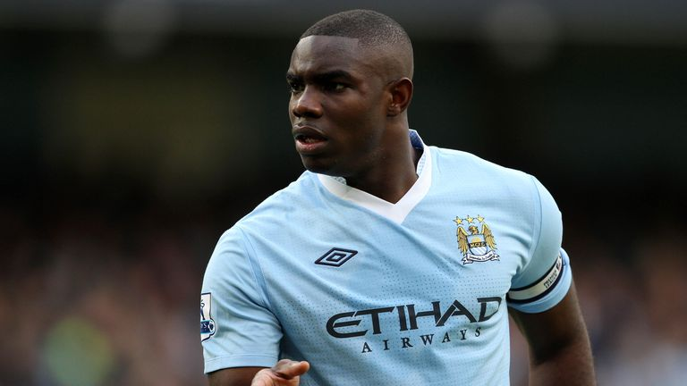 Micah Richards pictured playing for Manchester City. Pic: AP