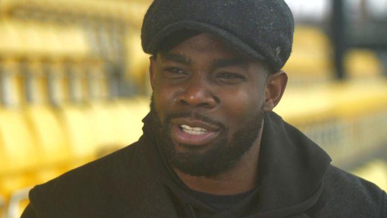 Ex-footballer Micah Richards on racist abuse online