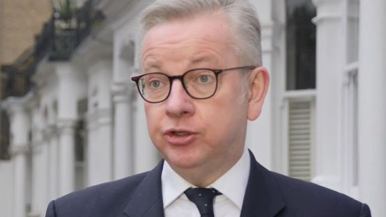 Michael Gove predicts some level of border disruption in coming weeks because of Brexit