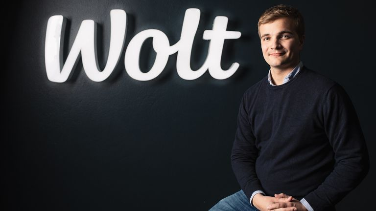 Miki Kuusi is the CEO of Wolt. Pic: Wolt