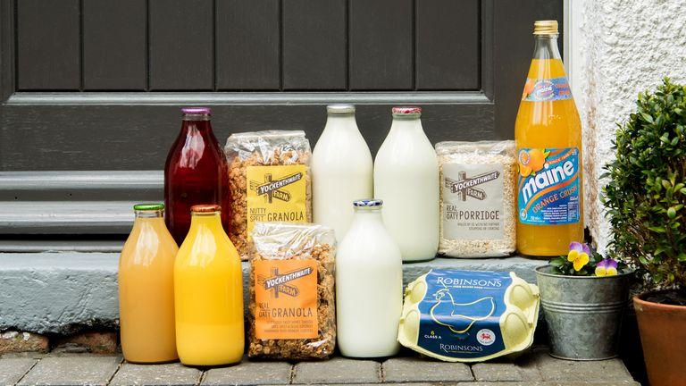 Modern Milkman products. Pic: MM