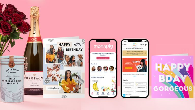 Moonpig says it has a 60% market share in UK online card sales
