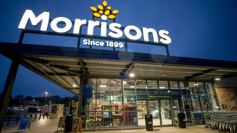 Morrisons is the UK's fourth largest supermarket chain