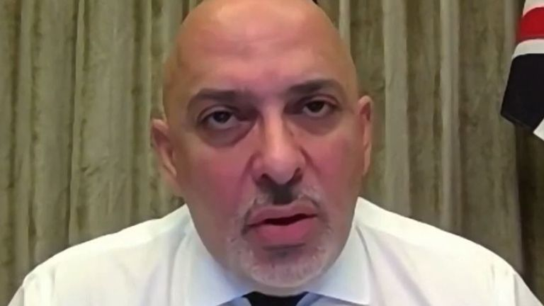 Nadhim Zahawi urges the public not to push back against coronavirus restrictions