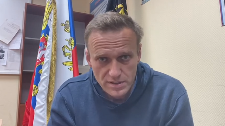 Navalny released a video on YouTube