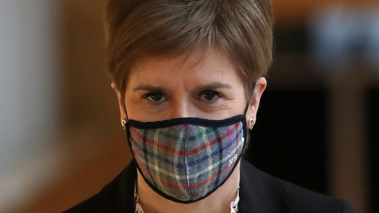 Nicola Sturgeon 'entirely rejects' the claims