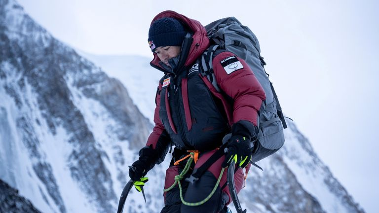 "NOTE RESTRICTIONS+++ Nirmal ""Nims"" Purja is seen before his winter attack on K2, Pakistan, January 5, 2021. Pic: NIMSDAI/RED BULL CONTENT POOL/Handout via REUTERS. THIS IMAGE HAS BEEN SUPPLIED BY A THIRD PARTY. MANDATORY CREDIT. NO RESALES. NO ARCHIVES. NO NEW USES AFTER SIX MONTHS. NO USE ON YOUTUBE."