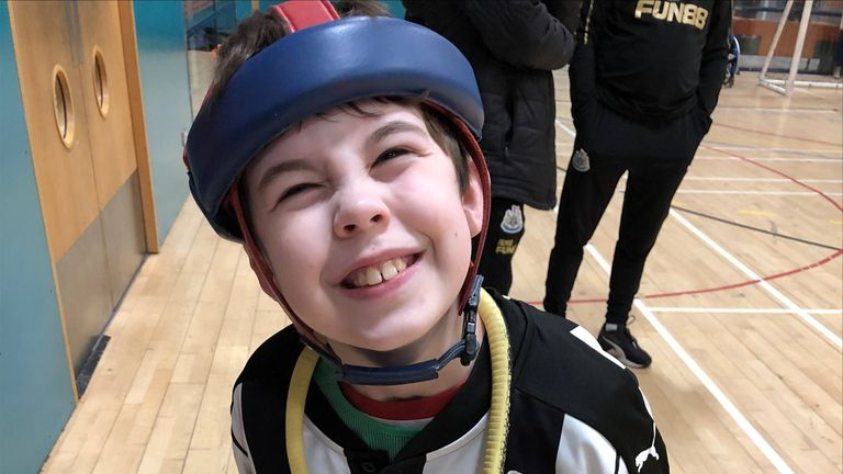 Oliver's confidence has 'soared' since he began visiting the centre