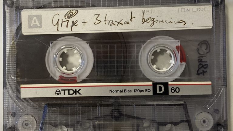 The demo cassette from On A Friday which would go on to become Radiohead