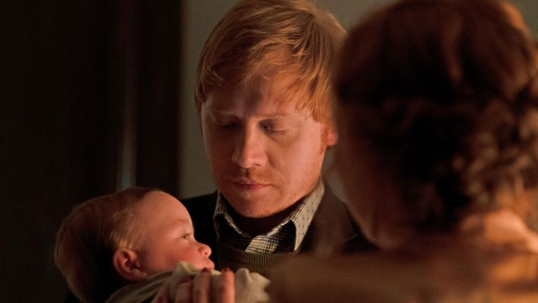 Rupert Grint plays an uncle in Servant, but in real life he's recently become a father. Pic: Apple TV +