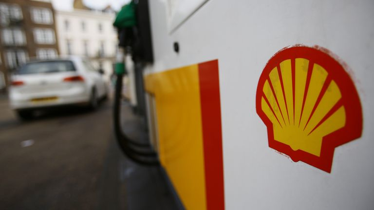 A Shell logo at a petrol station in London, as the board of BG Group has backed a takeover offer worth about ..47 billion from Royal Dutch Shell. PRESS ASSOCIATION Photo. Picture date: Wednesday April 8, 2015. Photo credit should read: Yui Mok/PA Wire