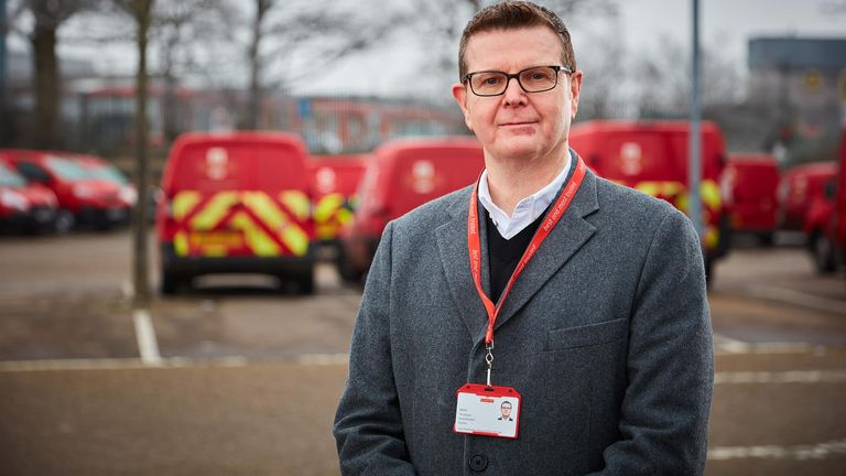 Simon Thompson is a former Ocado executive who also ran the NHS Test and Trace app. Pic: Royal Mail