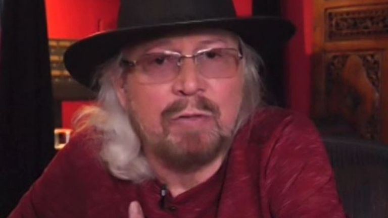 Sir Barry Gibb believes the US will have to calm down