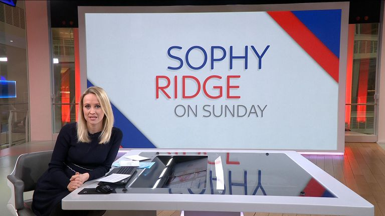 Sophy Ridge on Sunday 17 January